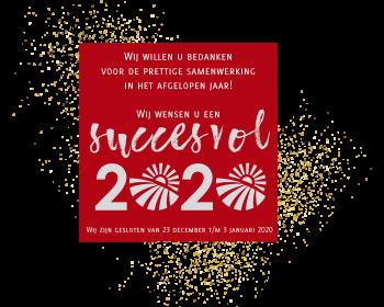 Wij wensen u een succesvol 2020