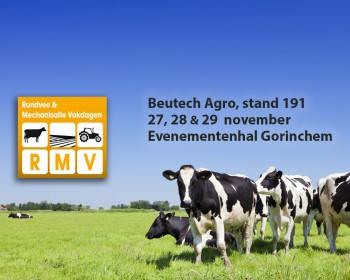 Beutech Agro ook op Rundvee & Mechanisatie Vakdagen in Gorinchem
